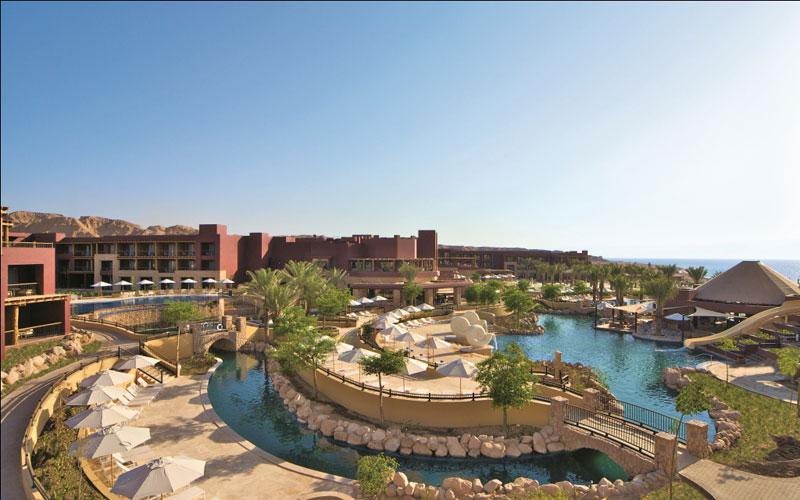 Blick auf das Resort