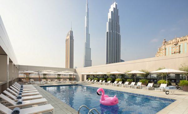 Pool, Rove Downtown Dubai