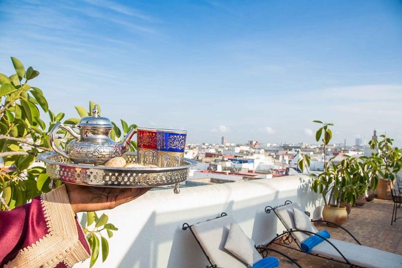 Dachterrasse, Riad Dar el Kebira