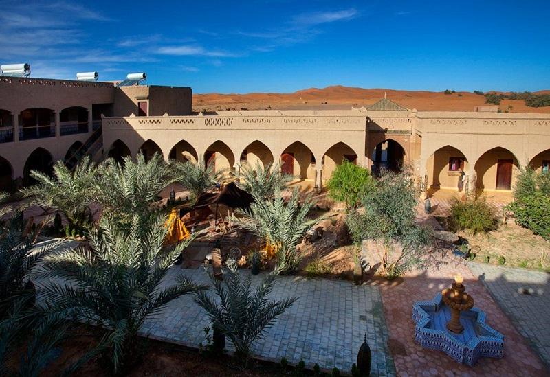 Innenhof des Nomad Palace Hotels