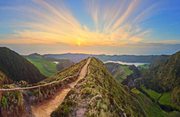 Traumhafter Ausblick, Azoren