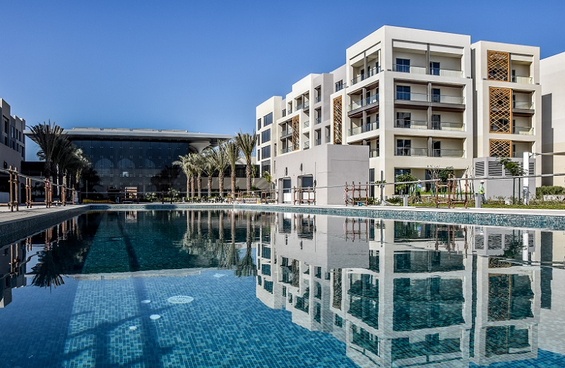 Pool vor der Hoteleröffnung