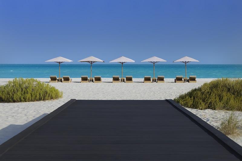 Park Hyatt Abu Dhabi Hotel & Villas, Traumstrand Saadiyat