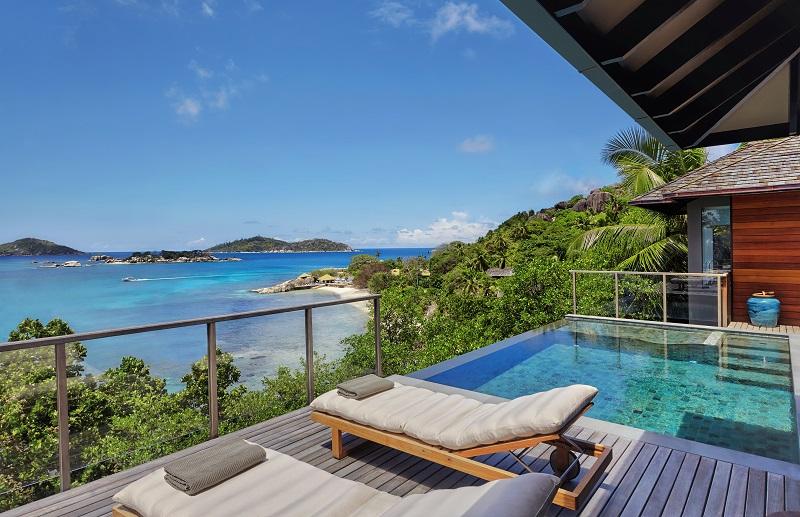 Ocean Front Pool Villa Aussicht