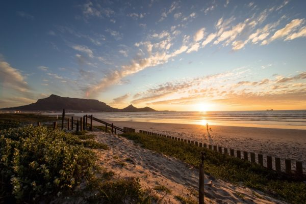 Blick auf Tafelberg