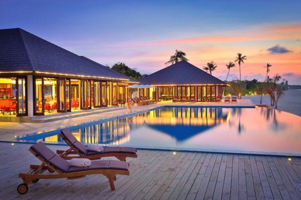 Sonnenuntergang Atmosphere Kanifushi Maldives