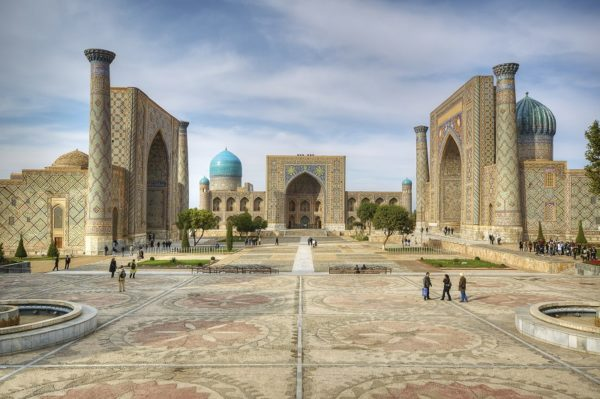 Registan in Samarkand – cinzano77 Fotolia X
