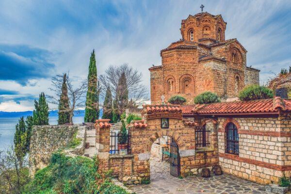 Ohrid Kirche 1